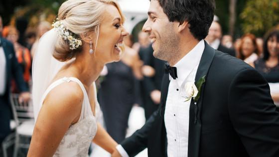 Nos heureux mariés