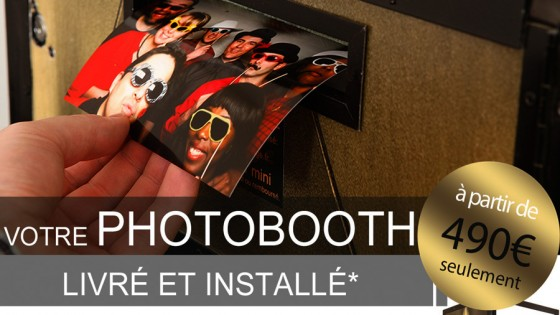 Animation mariage photobooth Paris