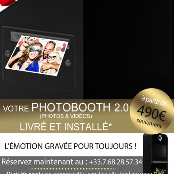 Location photobooth mariage Paris